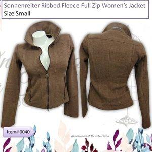 Sonnenreiter Ribbed Fleece Womens Fleece Jacket S